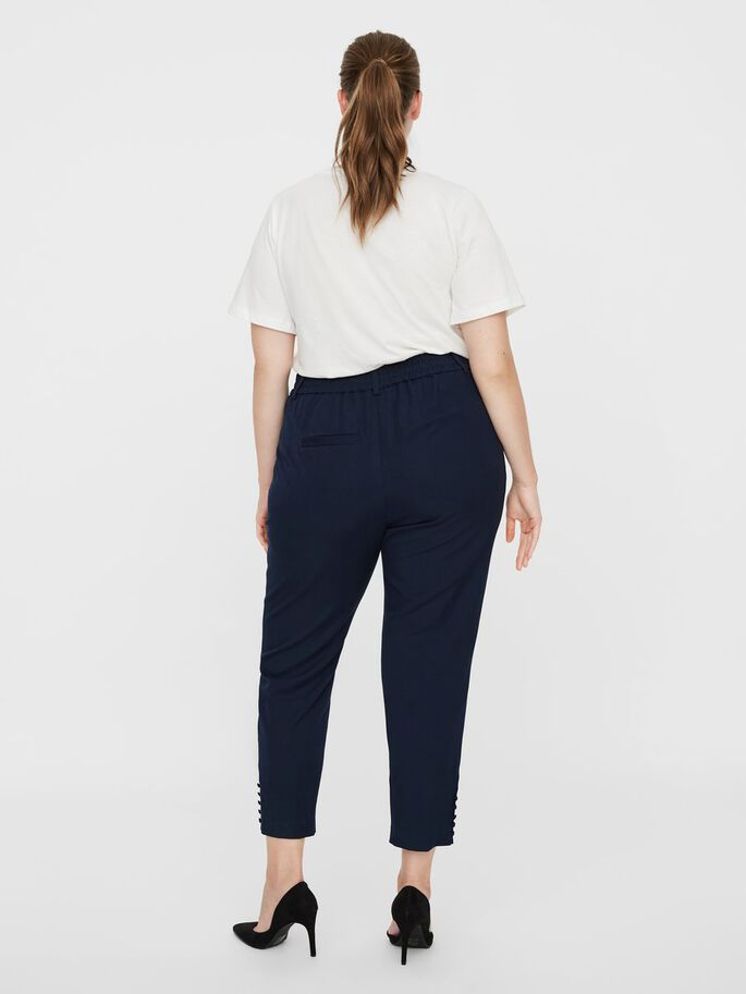 TAILORED TROUSERS, Navy Blazer, large