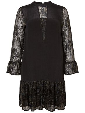 LACE DRESS LONG SLEEVED DRESS